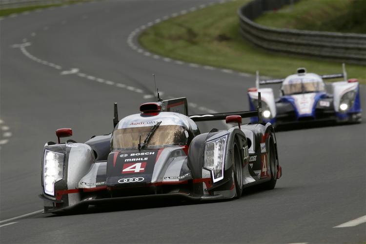 Starker Auftritt von Audi im 1. Qualifying