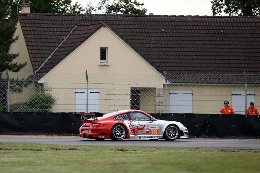 Der Porsche 911 GT3 RSR von Bergmeister, Long und Holzer