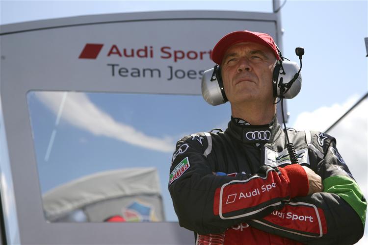 Der Audi Motorsportchef Dr. Wolfgang Ullrich