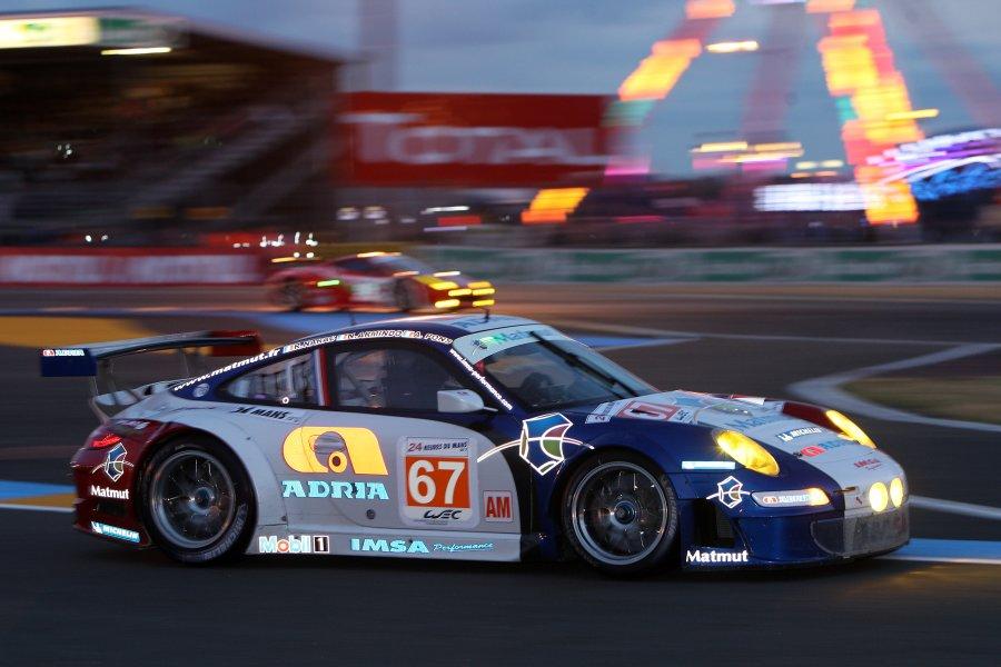 Narac, Armindo und Pons fahren den 911 GT3 von IMSA Performance Matmut