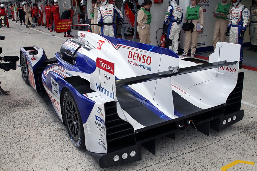 Die Hybrid-Technologie wird dieses Jahr auch von Toyota verwendet