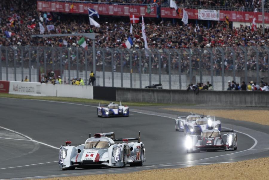 Audi Nr1 führt im moment