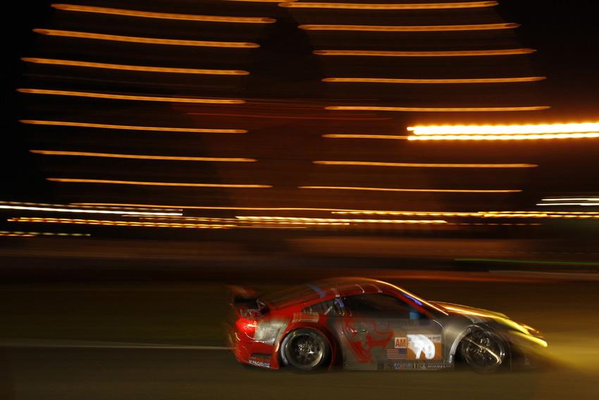 Flying Lizard Motorsports auf der Rennstrecke