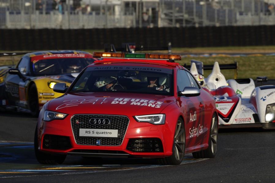 Der Safety Car Audi RS 5