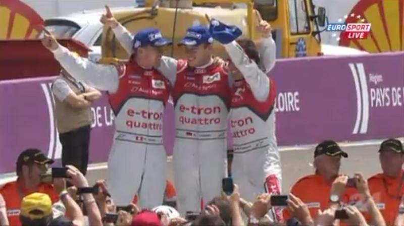 Lotterer, Fässler und Treluyer gewinnen im Audi #1