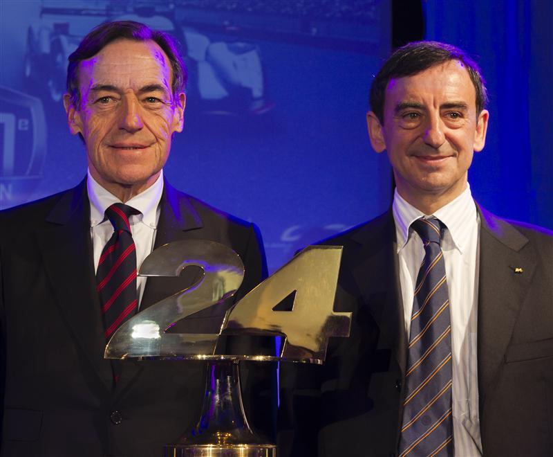 FIA Endurance Commission President Owen-Jones & ACO President Fillon