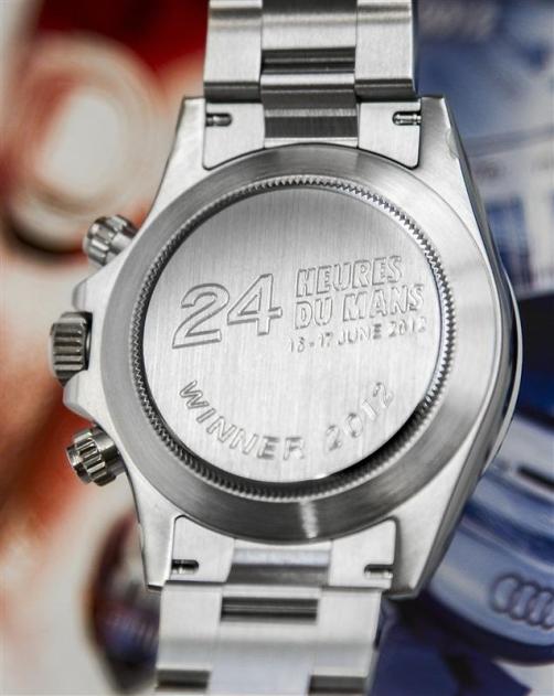 Jeder Le Mans Gewinner bekommt eine Rolex Uhr geschenkt