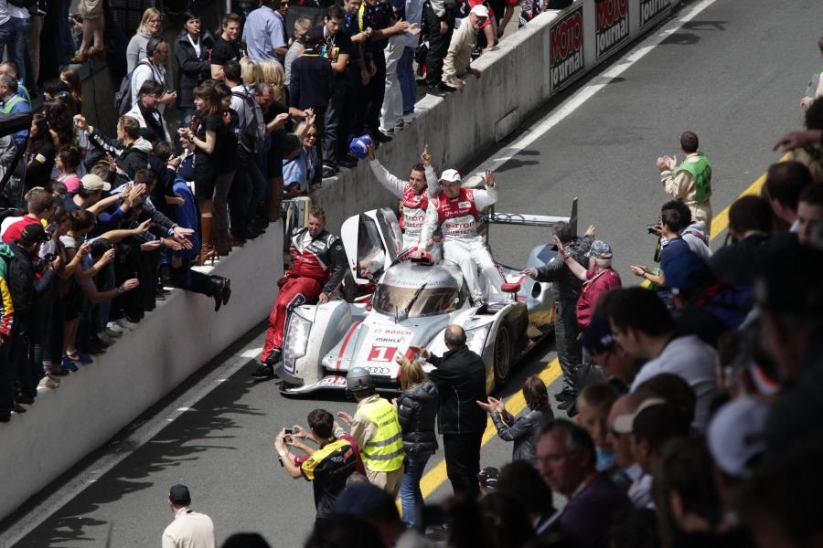 Audi schreibt Le Mans Geschichte