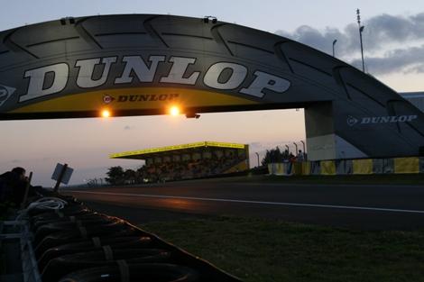 Ein Satz Dunlop-Rennreifen absolviert sechs Stints