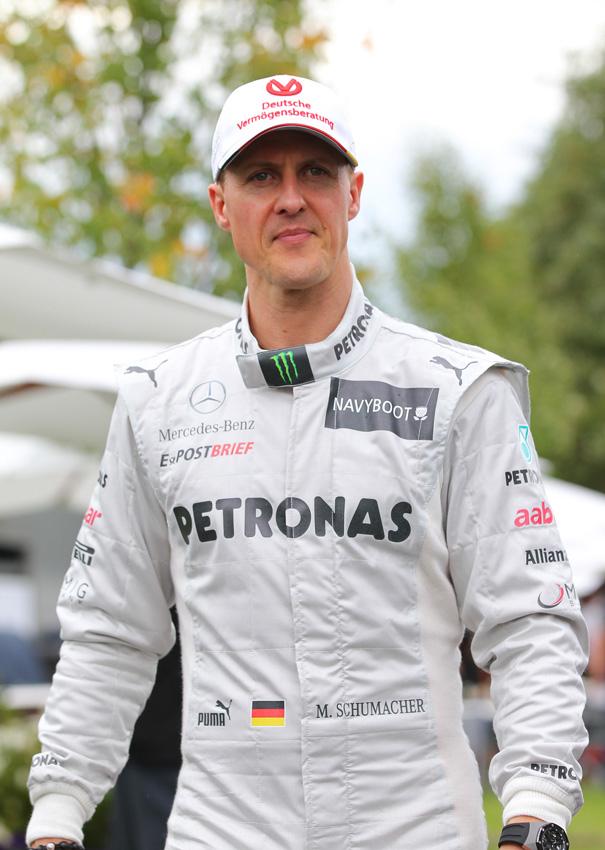 Die bisherige Saison von Schumacher war vom Pechvogel verfolgt