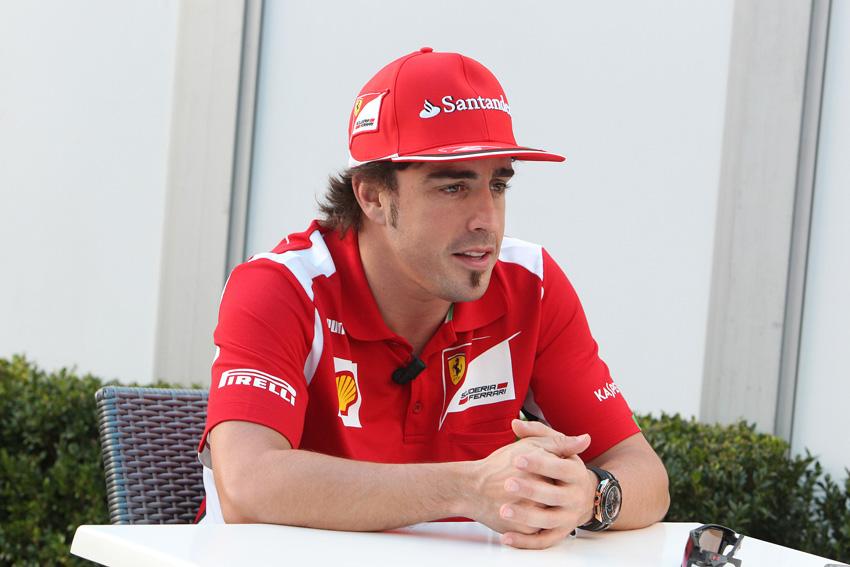Fernando Alonso ist derzeit eindeutig die Nummer Eins bei Ferrari