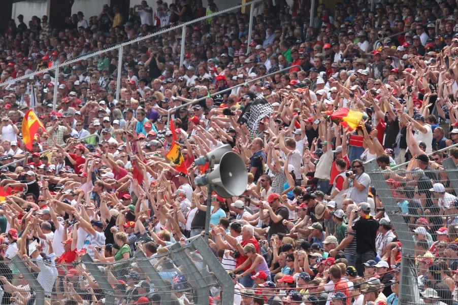 Werden Fans beim 10. WM Lauf den 10. Sieger bejubeln?