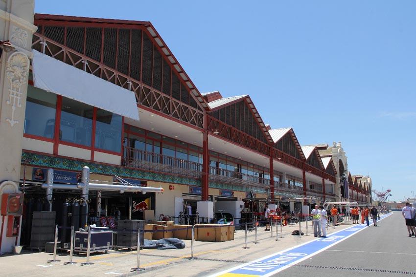 Der Valencia Street Circuit