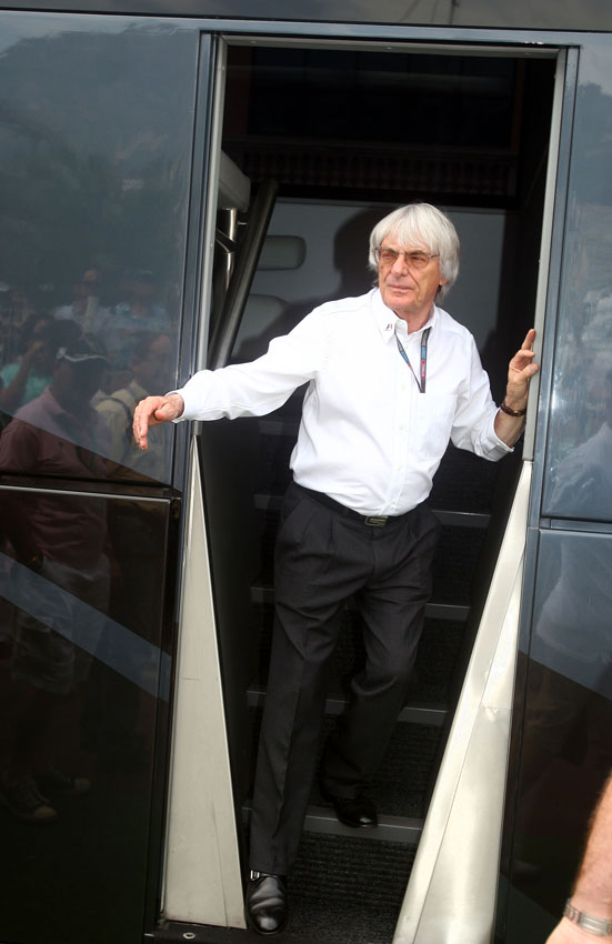 Ecclestone hat zugegeben dass er als Teamchef schummeln würde