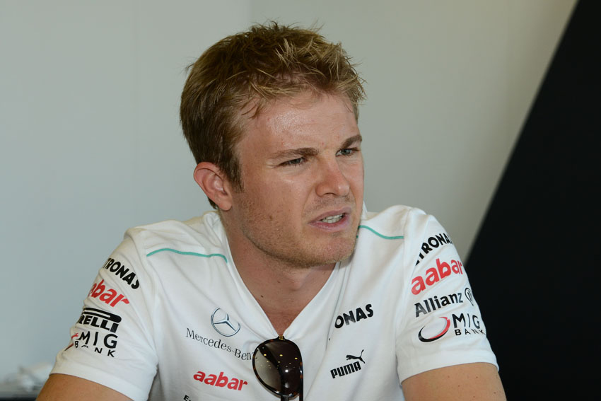 Nico Rosberg komplettierte die Top10