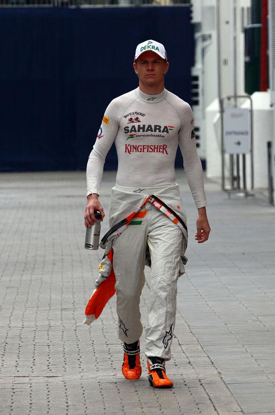 Nico Hülkenberg fuhr nur im zweiten Training