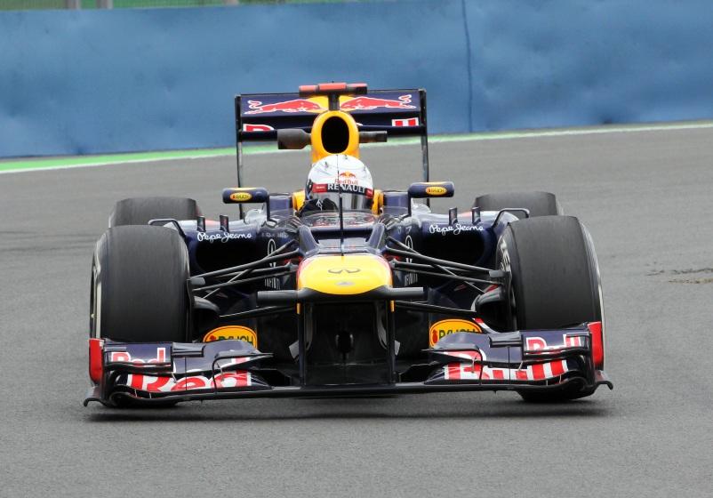 Vettel mit einer Bestzeit von 1:39.448 in Valencia
