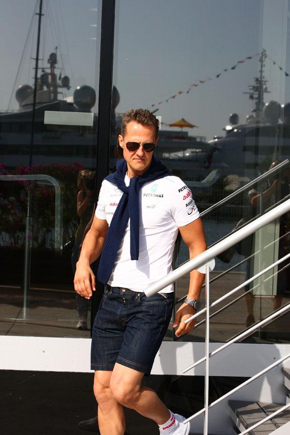 Michael Schumacher verpasste die Top 10!