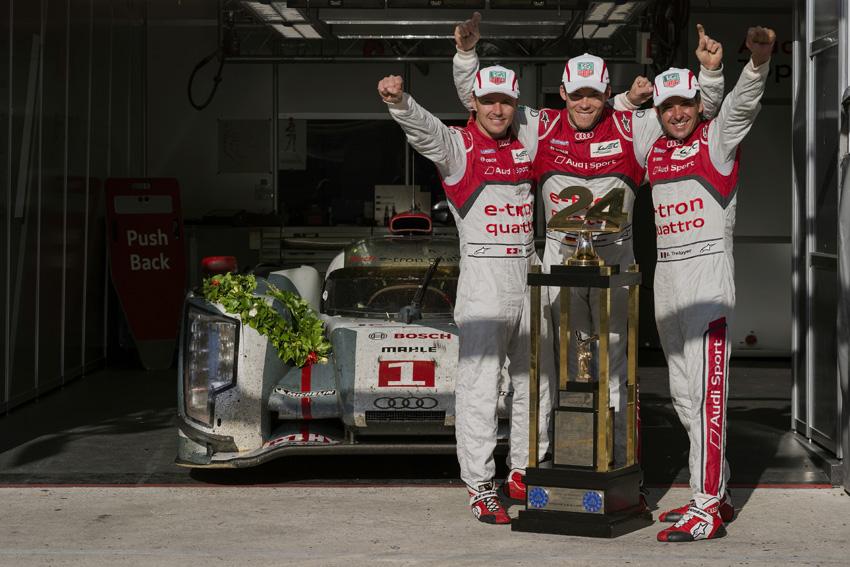 Die Gewinner des 24h Le Mans - Audi R18 e-tron quattro #1