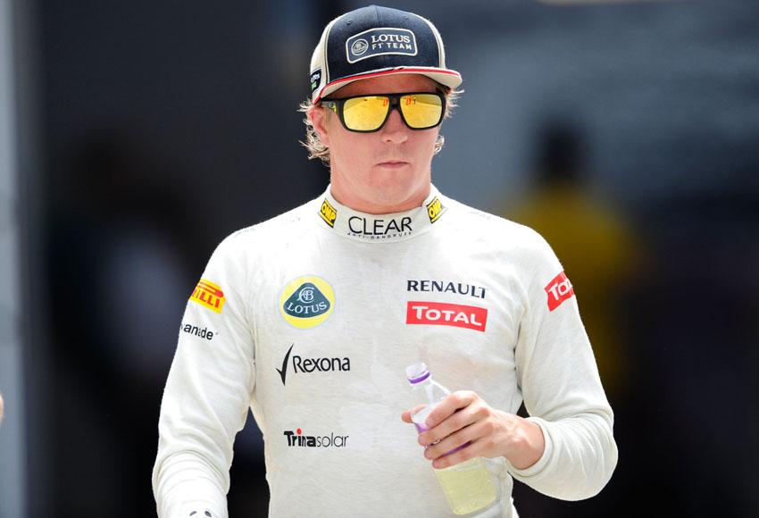 Räikkönen ist auf P2!
