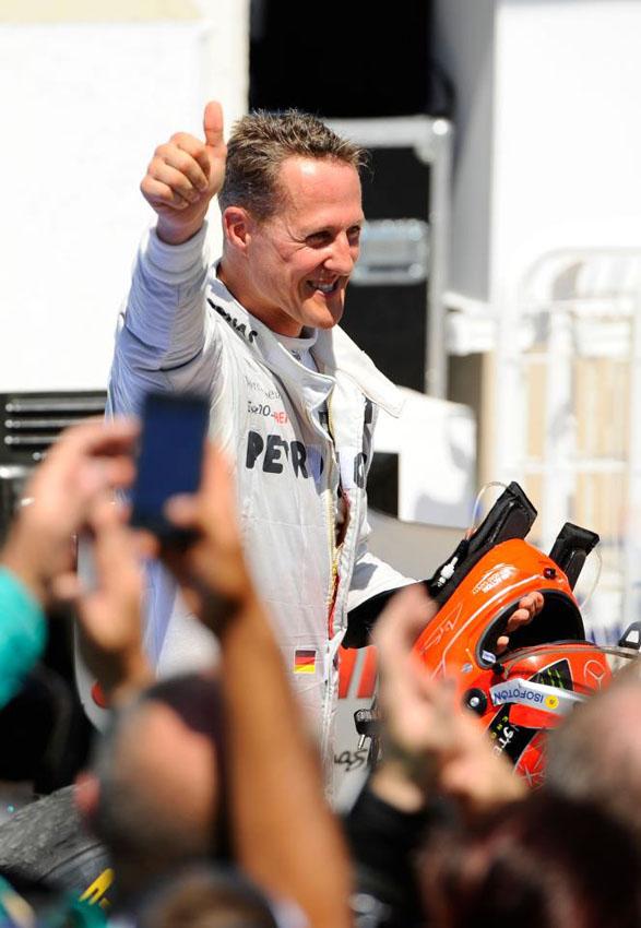 Red Bull legt Protest gegen Schumachers 3. Platz ein