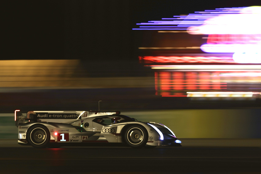 Benoit Treluyers im Audi R18 e-tron quattro #1
