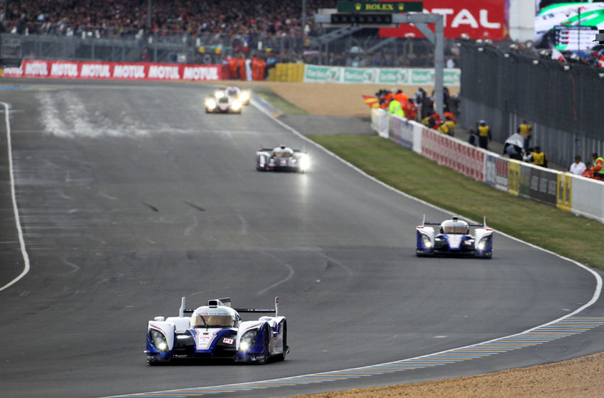 Toyota bei den 24h Le Mans Rennen