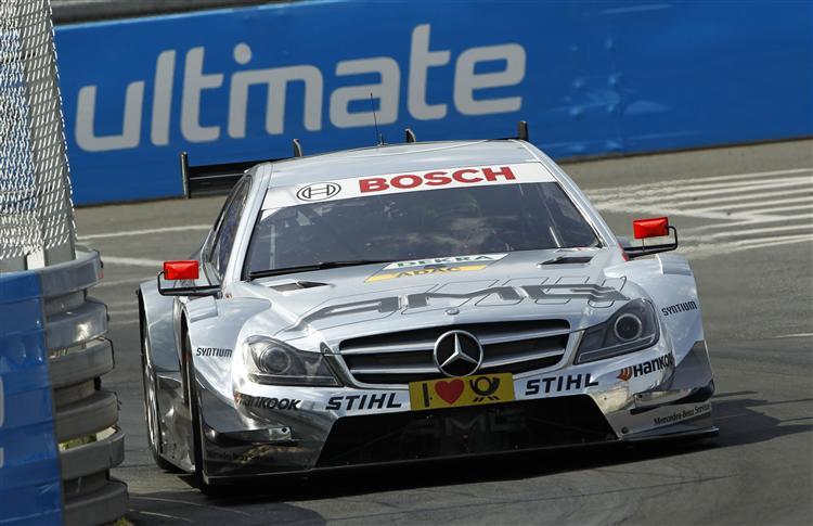 Jamie Green komplettiert Mercedes Startreihe 1