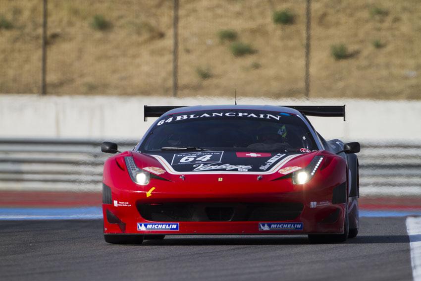 Auf Platz 2 lag der Black Bull Swiss Racing Ferrari 458 Italia