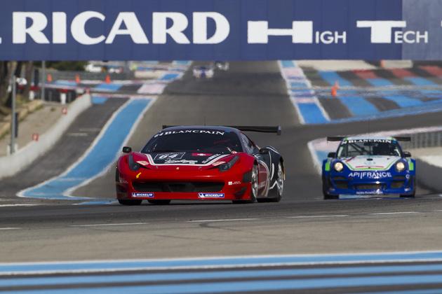 Auf Platz 2 beendete Black Bull Swiss Racing mit dem Ferrari 458