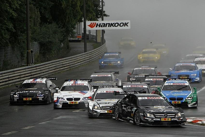 Der Start zum 5. DTM Lauf 2012