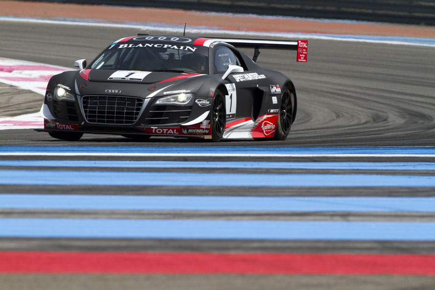 Das Gewinner Auto - Audi R8 LMS #1