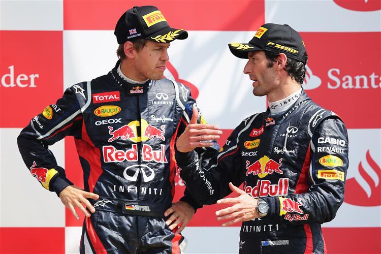 Red Bull setzt auch 2013 auf Vettel und Webber