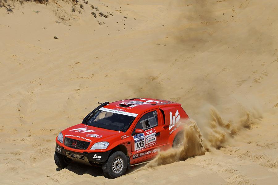 Die Silk Way Rallye hat eine kontrastreiche Strecke ausgesucht