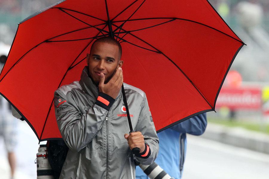 Im trockenen Rennen fehlte es Hamilton deutlich an Speed