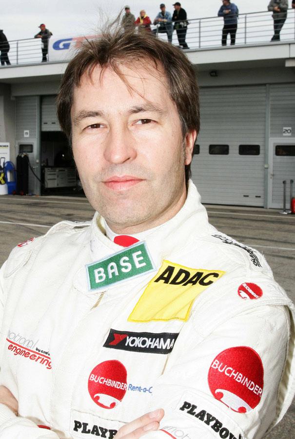 Frentzen stand am Nürburgring schon in der Formel 1 auf dem Podest