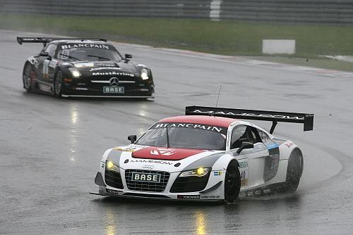 Mamerow holt den ersten Audi R8 siegt in der Saison 2012