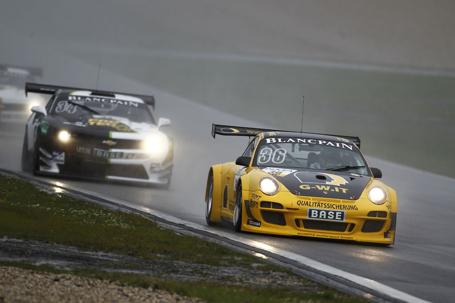 Der GT3 von Edwards und Engelhart trumpfte auf