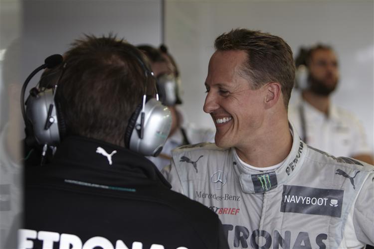 Schafft Schumacher bei seinem Heim Grand Prix erneut den Sprung aufs Podium