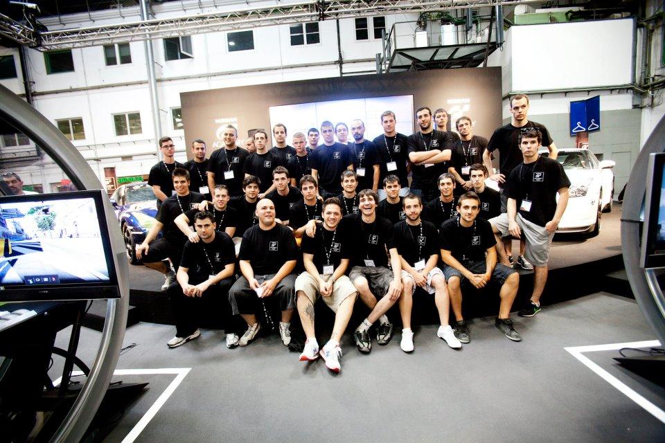 32 Gamers der Spanischen Nissan GT Academy
