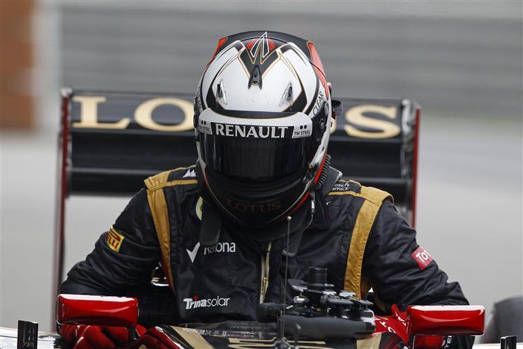 Auch Räikkönen ist ein Kandidat auf das Podium