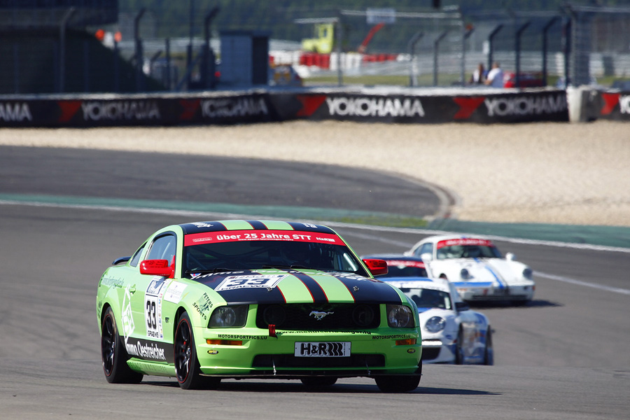 Gil Linster im Ford Mustang
