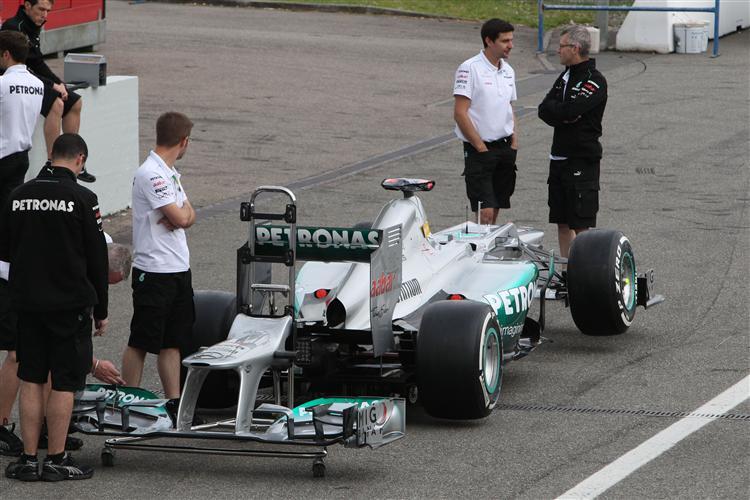 Fährt Schumacher den Mercedes aufs Podium?