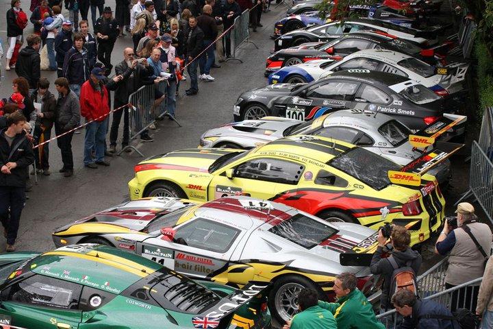 Das 24h Rennen von Spa ist eines der Höhepunkten im Motorsport