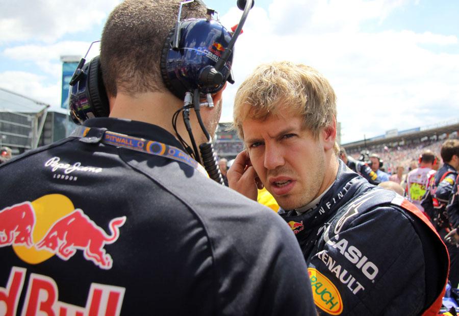 Sebastian Vettel steht am meisten unter Druck in Budapest