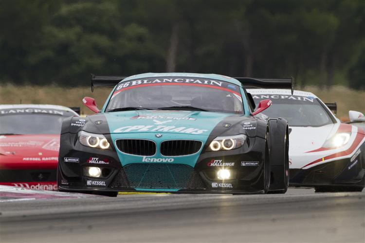 Der BMW Z4 GT3 vom Team Vita4one
