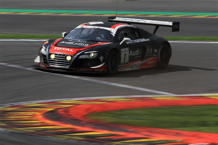 Audi #1 auf P2 in Spa