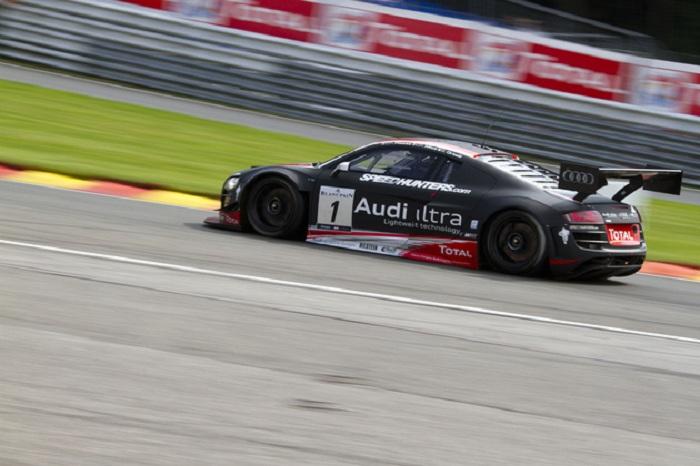 Der WRT Audi kam auf Rang 2 ins Ziel