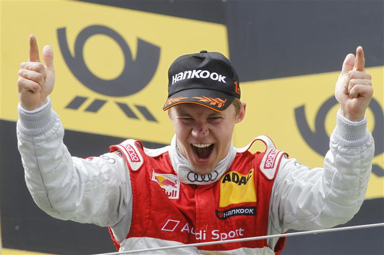 Ekström gewann 2011 auf dem Nürburgring