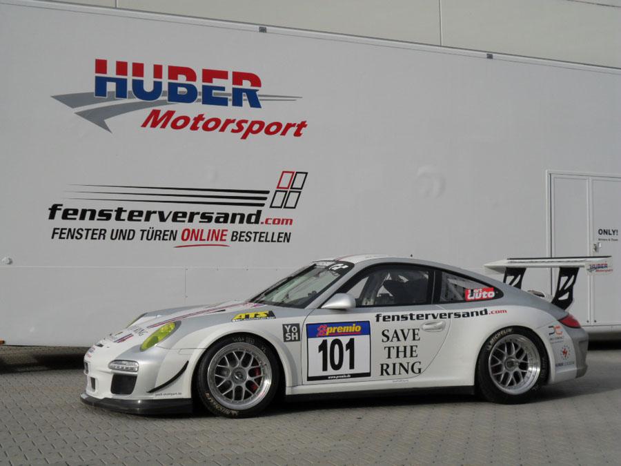 Das Quartett geht in der Porsche-Cup-Klasse an den Start